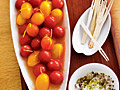 Tequila-Bloody Mary Cherry Tomatoes