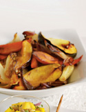 Warm Roasted Winter Vegetable Salad