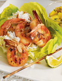 Image of Grilled Shrimp With Mango Salsa, Oprah