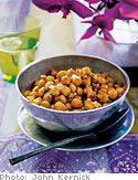 Masala-Spiced Chickpeas