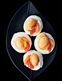 Meringues with Sorbet and Fruit