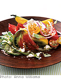 Heirloom Tomato and Fresh Oregano Greek Salad