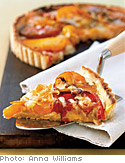 Beefsteak Tomato Tart with Asiago Cheese and Thyme
