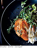 Orange, Fennel, and Arugula Salad with Ginger Vinaigrette