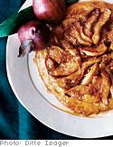 Pear and Ginger Tarte Tatin