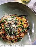 Asparagus and Pea Farrotto