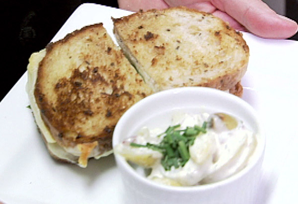 Cafe Muse's Grilled Cheese Sandwich
