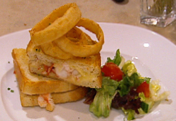 Billy Grant's Lobster Grilled Cheese