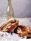 Warm Chicken Sandwiches with Sun-Dried Tomato Pesto