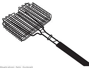 Small-mesh rack