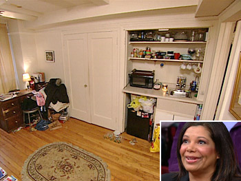 Martha's 250-square-foot apartment