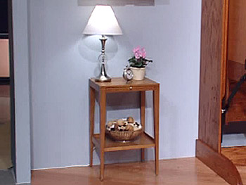 Tapered Leg Side Table from West Elm