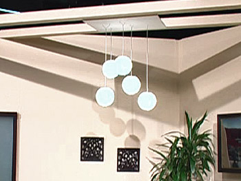 Cosmos 5 Light Fixture by Lucky Luke Design