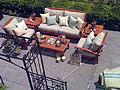 Nate Berkus creates an 'outdoor room' in a backyard.