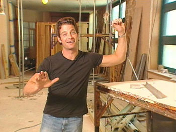 Nate Berkus begins construction at Harpo Studios.