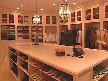 Nate reveals a new walk-in closet!