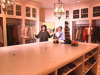 Oprah's closet is organized like a personal store.