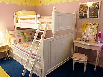 Organize your kids' rooms.