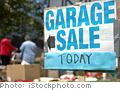 Plan a yard sale.