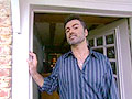 Singer George Michael gives a tour of his home