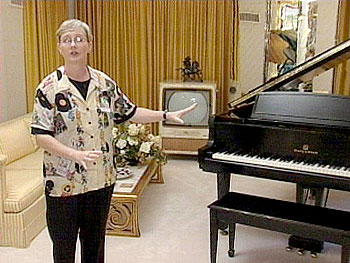 A tour of Graceland's music room.