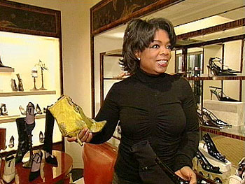 Oprah loves to shop at Bergdorf Goodman