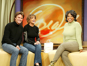 Lisa Rinna, Harry Hamlin and Oprah