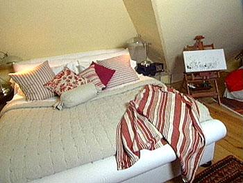 Celia Tejada's master bedroom.