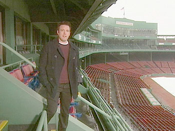 Boston Red Sox fan Ben Affleck