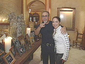 Gloria Estefan and her husband Emilio