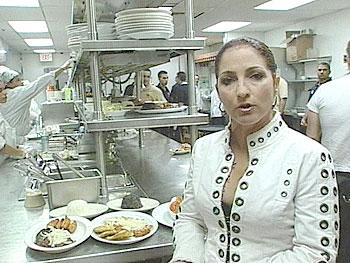 Gloria Estefan shares the secret of Cuban food.