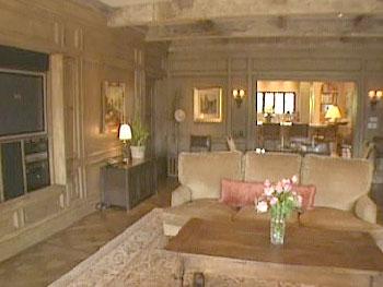 Lionel Richie's family room