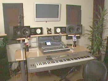 Lionel Richie's in-house recording studio