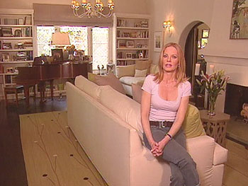 Marg Helgenberger oves the original architectural features of her home.