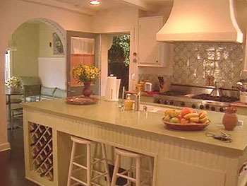 Marg Helgenberger's kitchen has mass appeal.