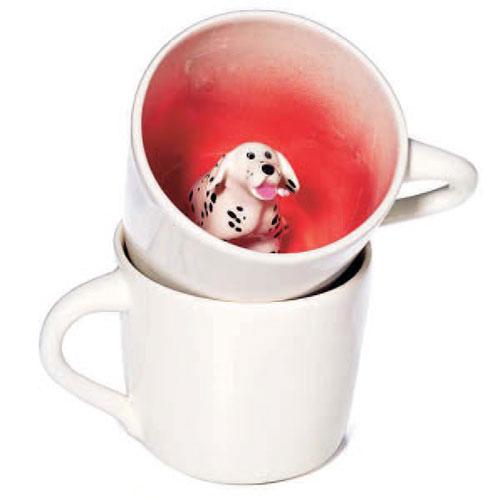 Spademan Pottery Dog Mugs