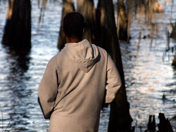 Denzel at Caddo Lake