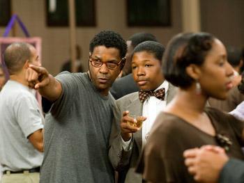 Denzel Washington and Denzel Whitaker