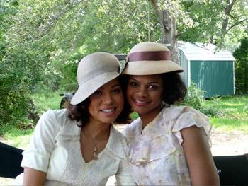 Jurnee Smollett and Kimberly Elise