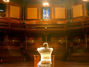 Denzel at Harvard University