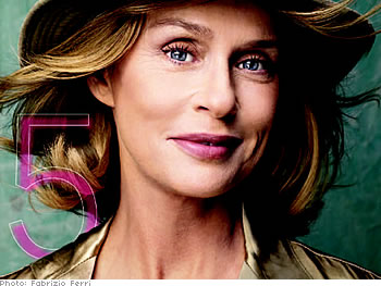 Lauren Hutton talks about beauty