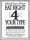 'Eat Right for Your Type' by Peter J. D'Adamo, nD, with Catherine Whitney