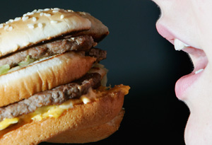 Fast food addiction acts like heroin or cocaine.