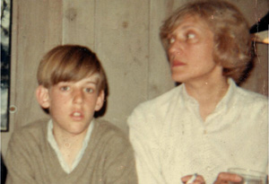Daniel Seidman and his mother, Nancy