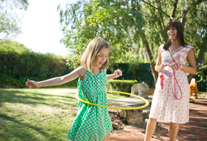 Hula hooping is back with a new focus on fitness.