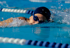 Training in water turns jogging into a low-impact activity.