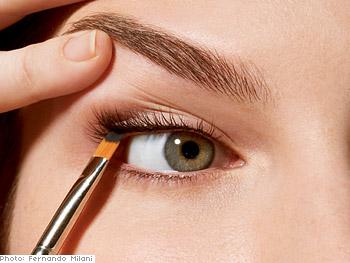 Apply eyeliner.