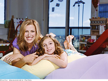 Amy Wechsler and her daughter
