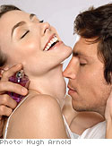 Couples on wearing fragrance