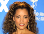 Michael Michele on the red carpet